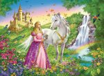 Princess with Horse Puzzle - 200pc