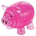 Crystal Puzzle - Piggy Bank