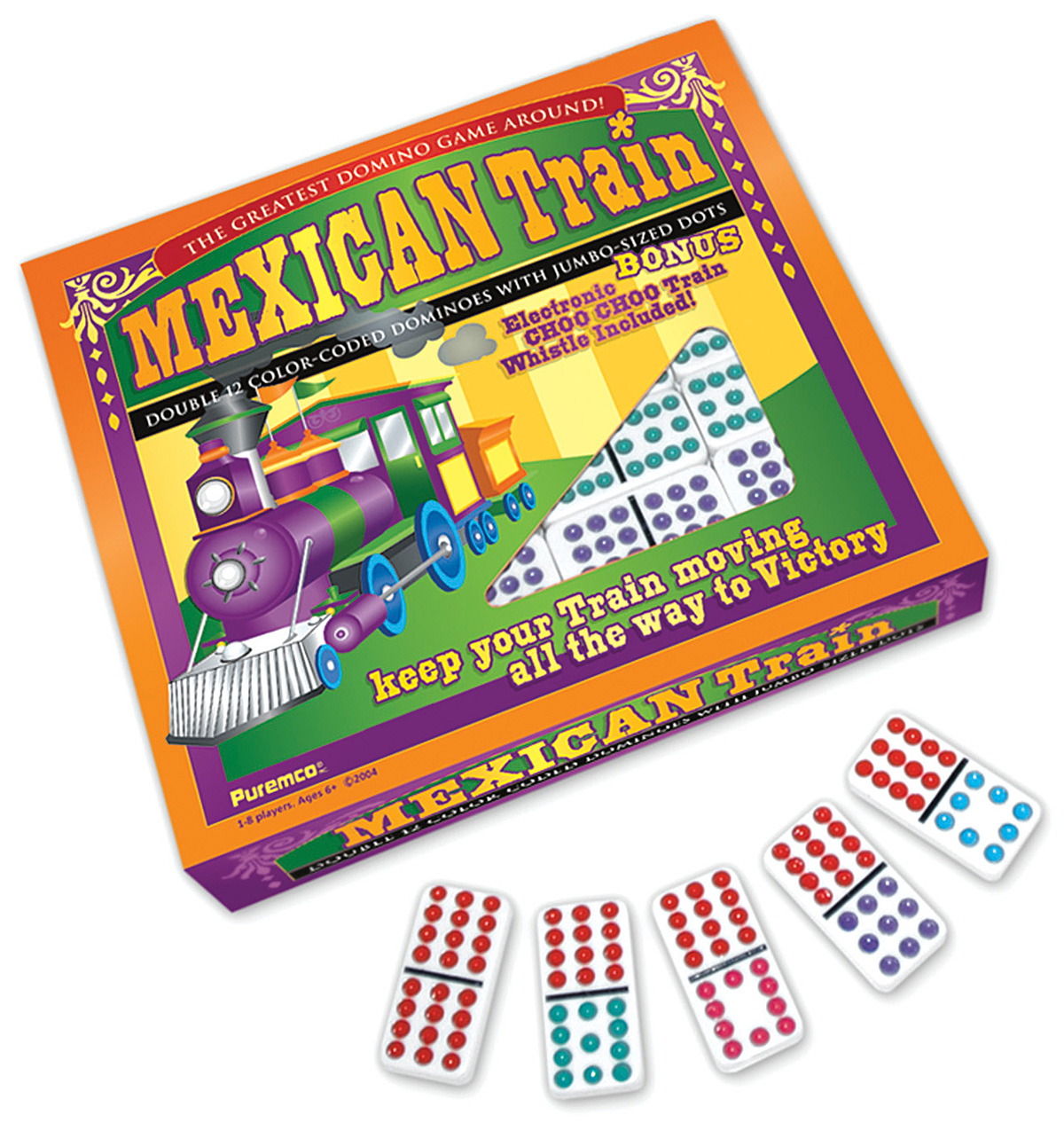 mexican train game how to play