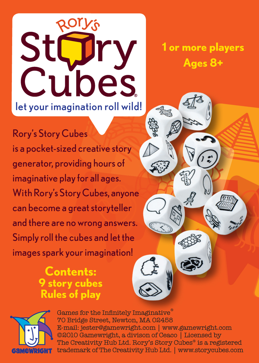 Rory S Story Cubes Junior Word Games The Puzzle Shop