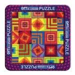 Opti-Illusion puzzle - Squares
