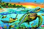 Sea Turtles (500 Piece)