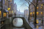 Rainy Evening, Eugene Lushpin (500 Piece)