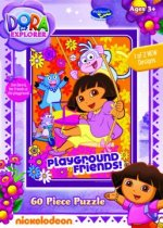Dora the Explorer - Playground Friends (60 Piece)