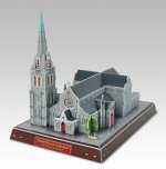 Christchurch Cathedral - 3D Puzzle