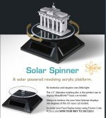 Solar Spinner for Metal Earth