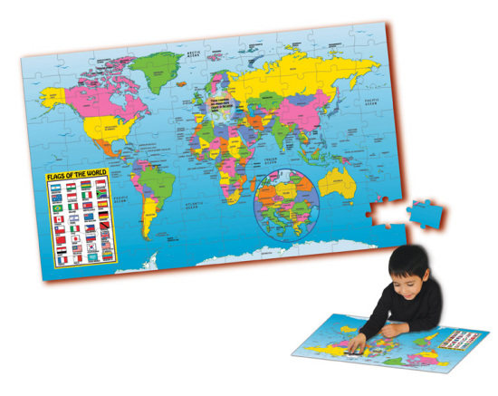 Map of the world floor puzzle 100 pieces 100 pieces jigsaw map of the world floor puzzle 100 pieces gumiabroncs Image collections