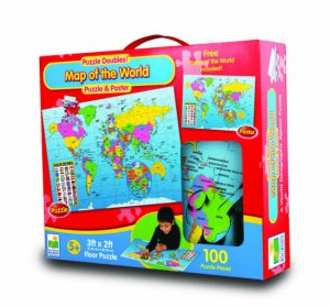 Map of the world floor puzzle 100 pieces 100 pieces for 100 piece floor puzzles