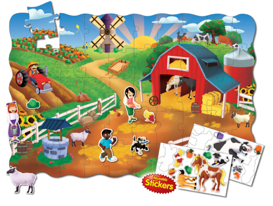 Browse the puzzle shop for 100 piece floor puzzles