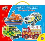 Shaped Puzzle - Emergency Vehicles