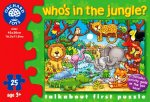 Who's in the Jungle (25 Piece Talk About Puzzle)