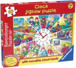 Clock Jigsaw with Movable Hands (60 Piece)