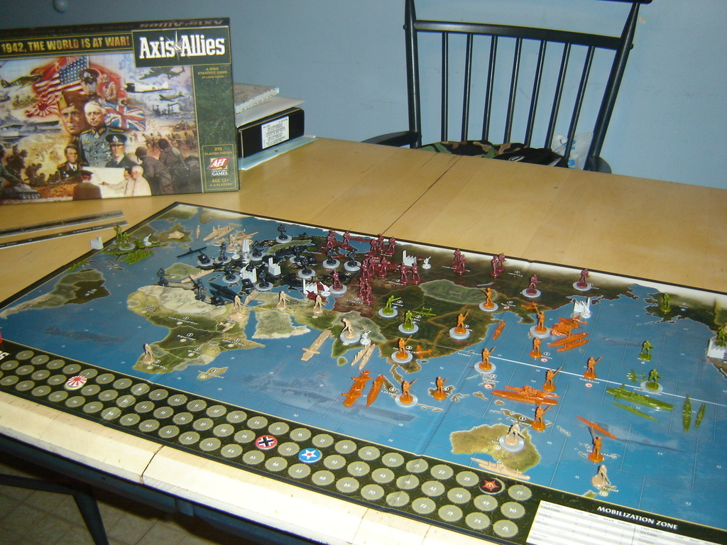 axis and allies 1942 board game rules pdf