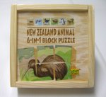 6 in 1 Puzzle - NZ Animals