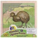 Wood Jigsaw  - Kiwi