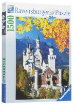 Neuschwanstein Autumn Puzzle - 1500pc