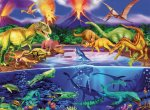 Prehistoric Times Puzzle - 300pc