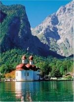 St. Bartholomae, Lake Koenigsee, Germany Puzzle - 500pc