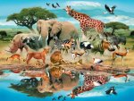 Watering Hole Puzzle - 300pc