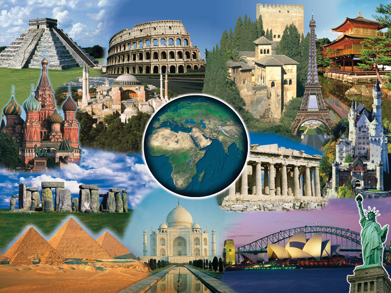 Free Download World Wonders Picture