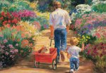 Flower Tots (A Walk with Dad) - 500pc