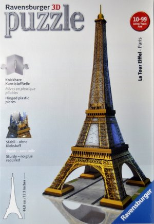 3d puzzle la tour eiffel 8 to adult shop by age the puzzle shop. Black Bedroom Furniture Sets. Home Design Ideas