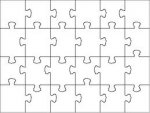Blank jigsaw packs (10 Pack)